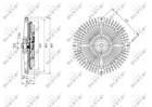 Ventilatorkoppeling Nrf 49588