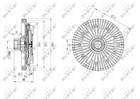 Nrf Ventilatorkoppeling 49589
