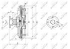 Ventilatorkoppeling Nrf 49591