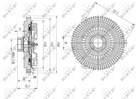 Ventilatorkoppeling Nrf 49593