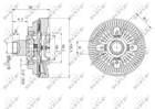 Nrf Ventilatorkoppeling 49596