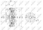 Ventilatorkoppeling Nrf 49614