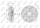 Ventilatorkoppeling Nrf 49623