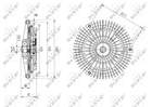 Ventilatorkoppeling Nrf 49627