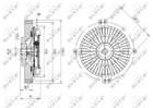 Ventilatorkoppeling Nrf 49641