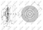 Ventilatorkoppeling Nrf 49642