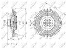 Ventilatorkoppeling Nrf 49647