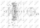 Ventilatorkoppeling Nrf 49652