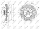Ventilatorkoppeling Nrf 49673