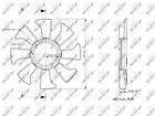 Nrf Ventilatorwiel motorkoeling 49867
