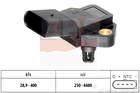 Inlaatdruk-/MAP-sensor / Luchtdruksensor hoogteregelaar Eps 1993235