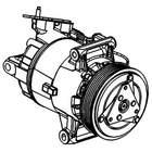 Airco compressor Delphi Diesel tsp0155927