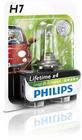 Gloeilamp bochtcorrectieschijnwerper / Gloeilamp daglicht / Gloeilamp grootlicht / Gloeilamp koplamp / Gloeilamp mistlicht Philips 12972llecob1