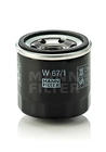 Mann-filter Oliefilter W 67/1