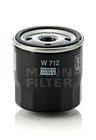 Mann-filter Oliefilter W 712