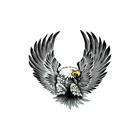 Mijnautoonderdelen AutoTattoo Eagles 2x 15x14,5 cm (30 AV 106008