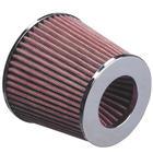 Mijnautoonderdelen OpenAir Filter 63.5mm neck Polished DK A635