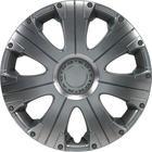"""Mijnautoonderdelen Wieldop Set Racing 13"""" Silver PP 5023"""