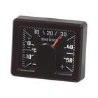 Thermometer Vierkant Zwart   C Richter rc04521