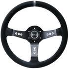 SteeringWheel L777 Piuma Black Sham Sparco sp15l800sc