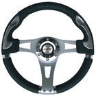 Simoni Racing Indianapolis 330mm Black Eco Leathe SR IN33N