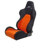 Mijnautoonderdelen Sportseat Eco Black/Orange (dual si SS 40A