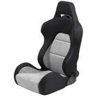 Mijnautoonderdelen Sportseat Eco Soft Black/Grey Chamo SS 40G