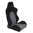 Sportseat Type Eco Black/Grey Left Mijnautoonderdelen ss40gl