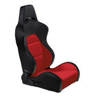 Sportseat Eco Black/Red PVC Left Mijnautoonderdelen ss40rl