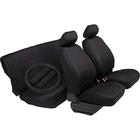 Mijnautoonderdelen SeatCover Black/Red Stripe + SWCove SY SC07R