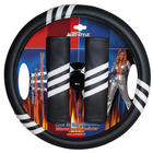 Mijnautoonderdelen St.Wheel Cover + Sh.Pads black/whit SY SW05W