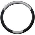 Mijnautoonderdelen STW Cover Black/Silver/Silver Stitc SY SW06S