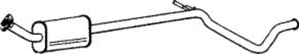 Romax Midden-/einddemper 38 2 138