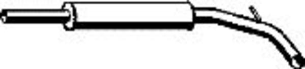 Romax Midden-/einddemper 60 2 004