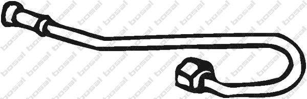 Bosal Drukleiding voor druksensor roetfilter 000-074
