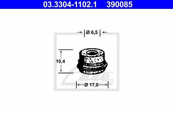 Ate Rem onderdeel (hydr.) 03.3304-1102.1