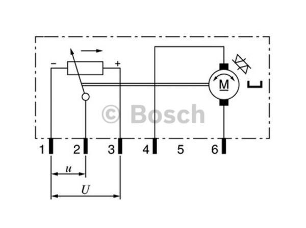 Bosch Electrische lichtregelunit 0 132 801 141