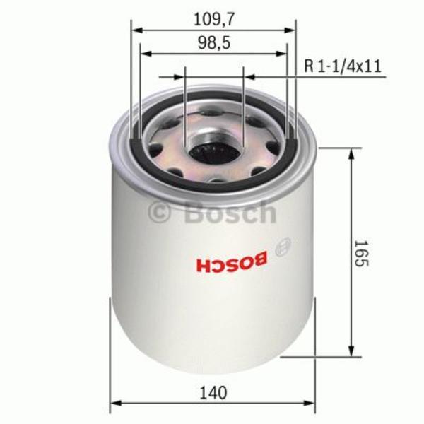 Bosch Luchtdroger (remsysteem) 0 986 628 252
