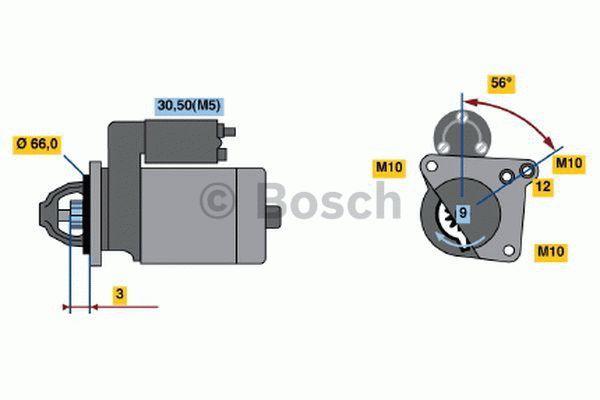 Bosch Starter 0 001 106 023