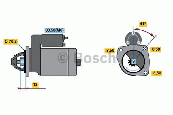 Bosch Starter 0 001 108 159