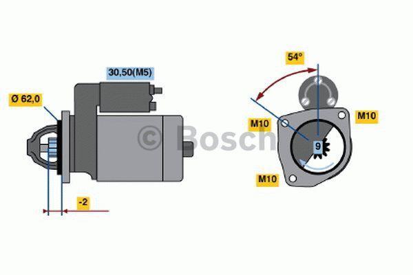 Bosch Starter 0 001 108 176