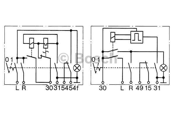 Bosch Knipperlicht / Relais Alarm/R.A.W. 0 336 851 901