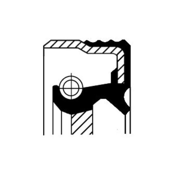 Corteco Krukaskeerring / Nokkenas keerring / Tussenaskeerring 12016528B