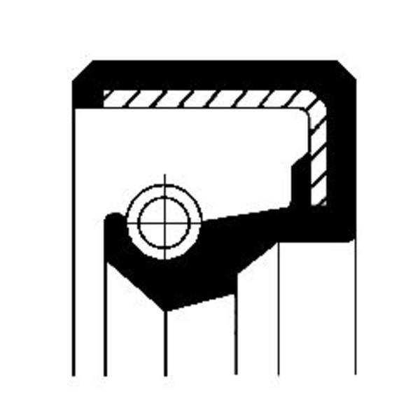 Corteco Brandstofpomp onderdeel 12010819B