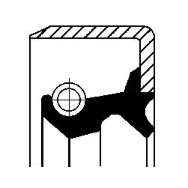 Corteco Brandstofpomp onderdeel 19035326B