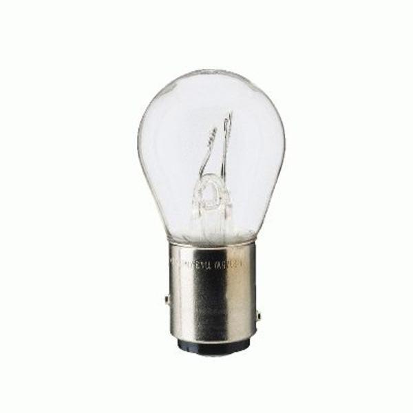 Philips Gloeilamp achterlicht / Gloeilamp achteruitrijlicht / Gloeilamp daglicht / Gloeilamp knipperlicht / Gloeilamp mist-/ achterlicht / Gloeilamp mistachterlicht / Gloeilamp parkeer-/ begrenzingslicht / Gloeilamp remlicht / Gloeilamp remlicht-/ achterlicht 12499B2
