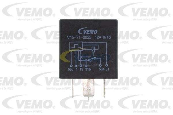 Vemo Relais wisserinterval V15-71-0025