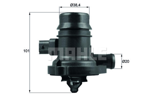 Mahle Original Thermostaat TM 36 103