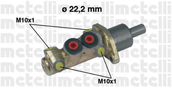 Metelli Hoofdremcilinder 05-0196