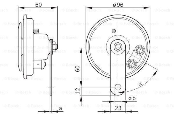 Bosch Claxon 0 986 320 111